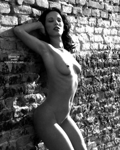Pic #1 Sexy Angelina - B&W Outdoors 2