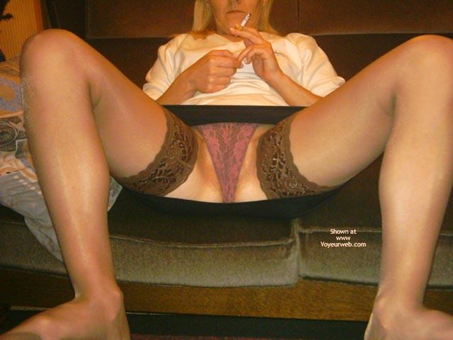 Pic #1 My Wife In Mini Skirt