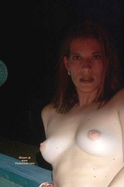 Pic #1 Pamela Outside On Hotel Deck