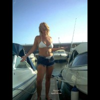 Flashing by The Boats