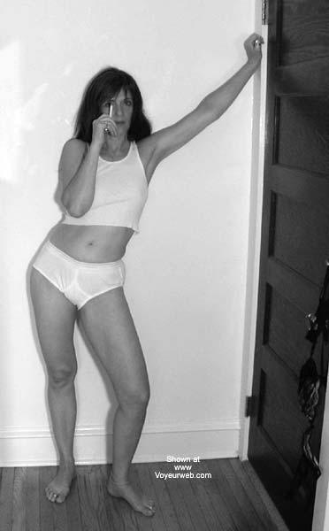 Pic #1Laila In Men's Undies