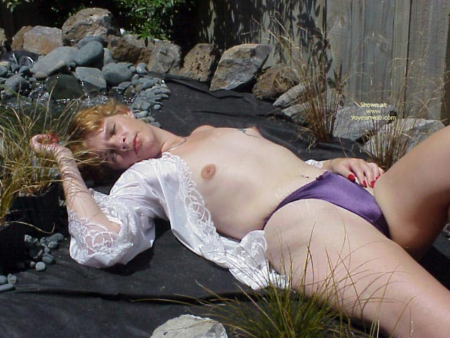 Pic #1 Relaxing In The Garden