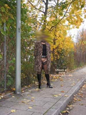 Pic #1Tanjana at Munich Parking Lot
