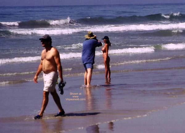 Pic #1 Lani and Ki Nude at Blacks Beach 1
