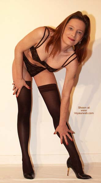 Pic #1 Sexy in Black Stockings