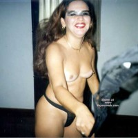 Latinlover XI .. Sexy Wife With New Breasts