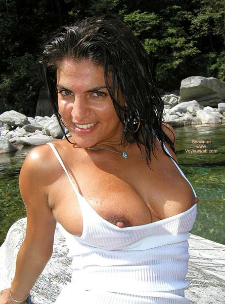 Pic #1 Vanessa Wet Tee Shirt