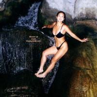 Lani on The Waterfall