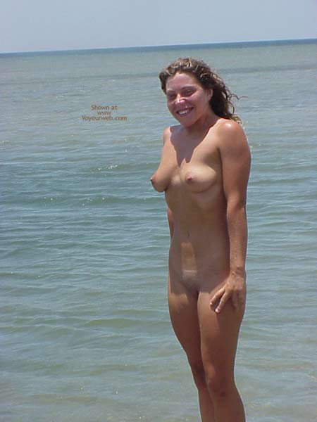 Nude At The Beach - Shaved Pussy , Nude At The Beach, Shaved Pussy