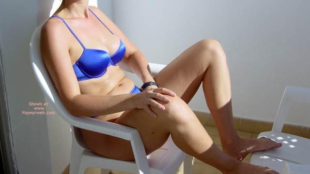 Pic #1 Blue Bikini