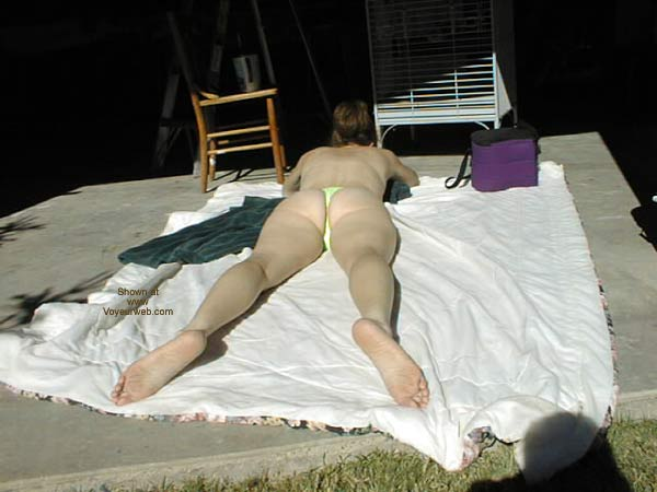 Pic #1 Lacey Sun Bathing