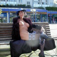 Exhibitionist - Exhibitionist, Nude In Public , Exhibitionist, Nude In Public, Fur Coat No Knickers, Exposed In Front Of Shops