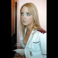 Genuine Young Nurse Shows Her Knickers