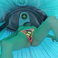 Daddys Little Girl Goes Tanning