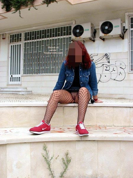 Pic #1 Portuguese Body Fishnets at Caparica