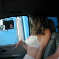 Candi's Back Flashing Truckers