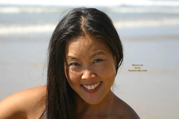 Pic #1 Asian Lani Nude at The Beach