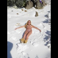 Southern California Snow Angel