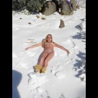 Southern California Snow Angel