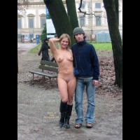 Fully Nude - Boots, Full Nude, Nude In Public , Fully Nude, Nude On Public Street, Boots