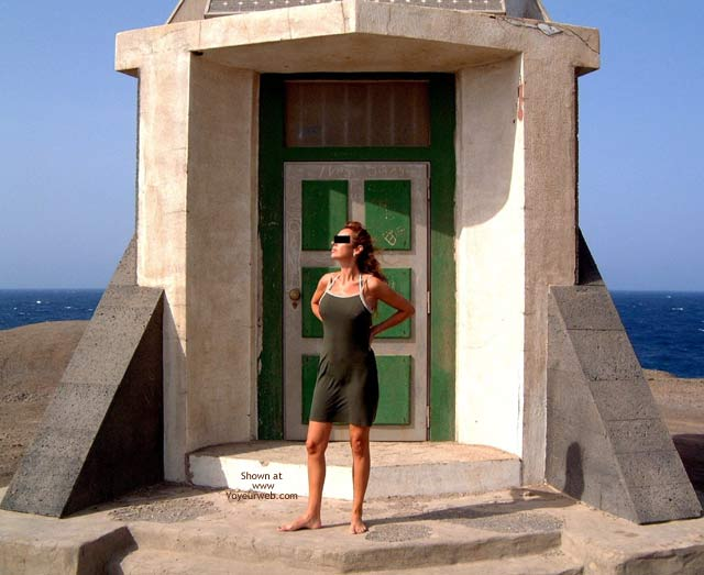 Pic #1 Olga/S1/Street Tease en Fuerteventura