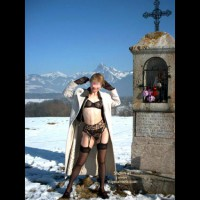 Eva de France a la Neige