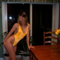 Laura's Borrowed Swimsuit