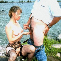Julie Hsavoie Sex Outdoor 1
