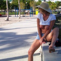Beach Vacation Fun and Flashing