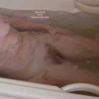 50 yo Wife Having a Bath