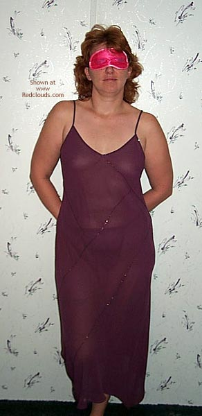 Pic #1Milf In Seethru Nightgown