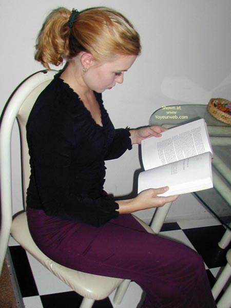 Pic #1 Cynthia K Gets Her Read On
