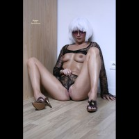 Toned Milf Body - Long Legs, Milf, Shaved Pussy , G-string, White Wig, Black Lace Panties, Wedgie, Sitting And Showing Breasts, Platinum Wig, Crotch Shot, Black Spider Web, Wig And Shaved Pussy, Camel Toe Lips, Full Frontal, Gold High Heeled Sandals, Sitting In The Corner, Shapely Legs, Black Long Sleeved Lace Top, Smooth Pussy, Spider Woman, Flossing Her Pussy