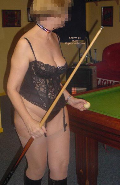 Pic #1Tigerlady and Friend Play Pool 1