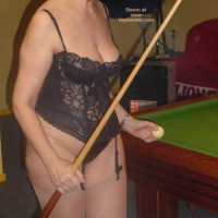 Tigerlady and Friend Play Pool 1