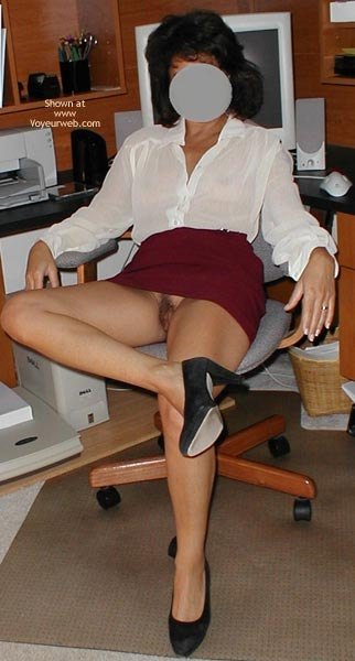 Pic #1 Sexy Wife at Work and Play