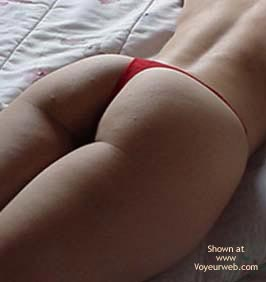 Pic #1 Red Brazilian Panty