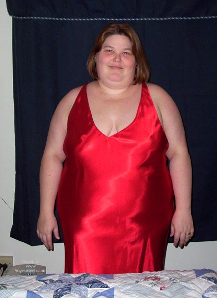 Pic #1 Red Gown Bbw 2