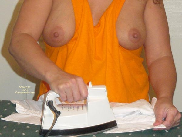 Pic #1 Downblouse Wife 4