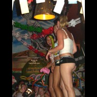 Girl at Senior Frog's in Mazatlan