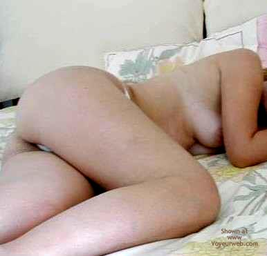 Pic #1 White Thong