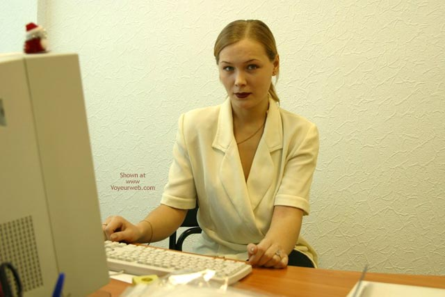 Pic #1 Sophie'S Office Strip Teasing