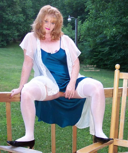 Pic #1 *Ol Playing Outside In Lingerie