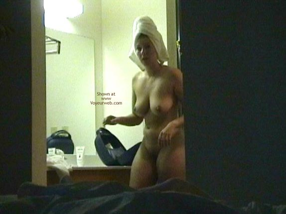 Wife Gets Ready - February, 2004 - Voyeur Web-6545