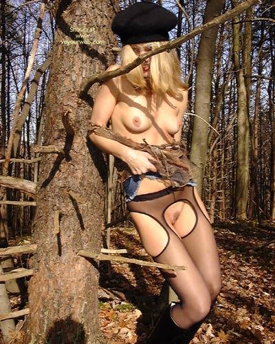 Pic #1 *NY Nina's Nylons in The Woods