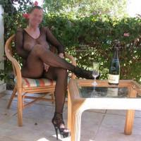 Sandra In Black