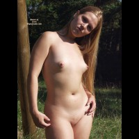 Shaved Pussy - Long Hair, Puffy Nipples, Shaved Pussy , Shaved Pussy, Outdoors Naked, Puffy Nipples, Puffy Aerolas