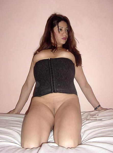 Black Corset Exposed Tits - Shaved Pussy, Showing Tits , Black Corset Exposed Tits, Shaved Pussy, Naked Latino, Eraser Nipples, Long Erect Nipples