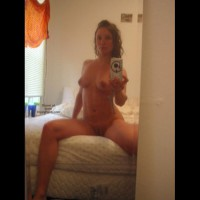Mirror Self Pics , Mirror Self Pics, Reflection In A Mirror, Sexy Selfshot, Nude Girl Sitting On Her Bed