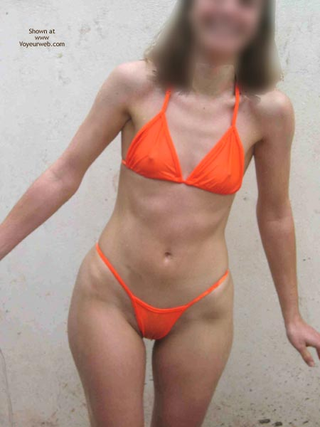 Pic #1 Miss NN Greek Girl New Orange Bikini